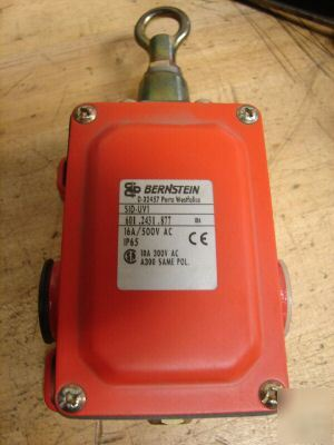 New bernstein sid-UV1 safety switch ip-65 rating