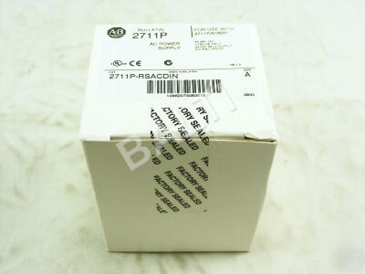 New * sealed* allen bradley 2711P-rsacdin panelview ps