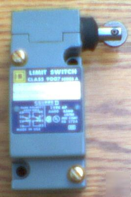 New square d 9007-C62F 9007C62F dpdt limit switch