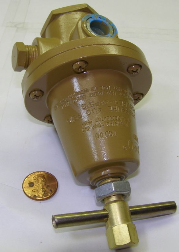 Rego 1682M pressure regulator...brown