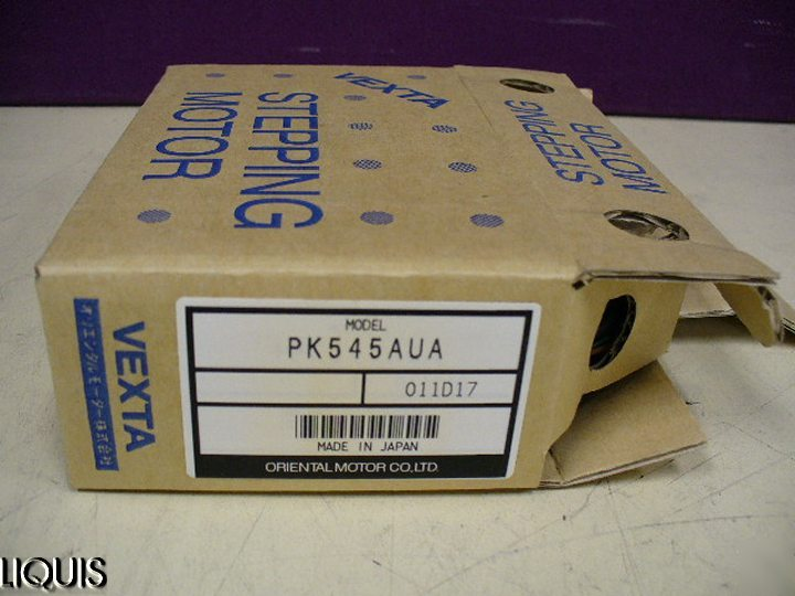 Vexta PK545AUA 5 phase stepping motor dc 0.72 amps